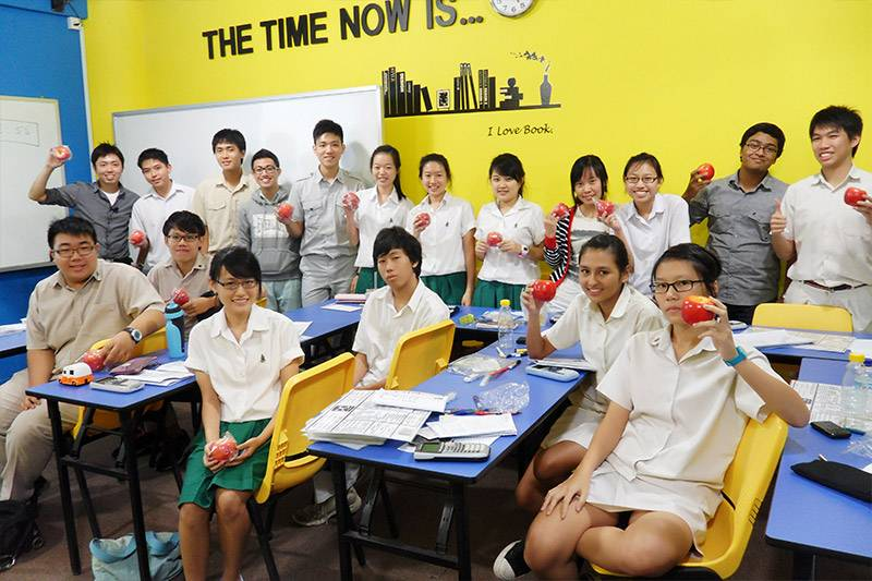 Students at PMC - Physics & Maths Tuition in Singapore
